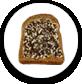 Brood met zoet beleg